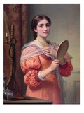 A Fair Reflection Giclee Print by Charles Edward Perugini