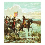 Battle of the Boyne Giclee Print by  English