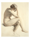 Life Study (Pastel and Pencil on Paper) Giclee Print by William Mulready