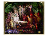 The Fairy's Funeral Reproduction procédé giclée par John Anster Fitzgerald