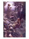 Gethsemane Giclee Print by Harold Copping