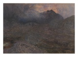 Cwn Trifaen, C.1857 (W/C with Bodycolour and Scratching Out) Giclee Print by Alfred William Hunt