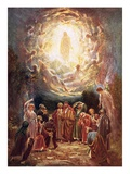 Jesus Ascending into Heaven Giclee Print by William Brassey Hole