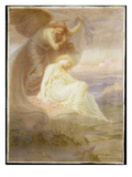 Spirit of Night, 1905 (W/C and Gouache) Giclee Print by Constance Phillott
