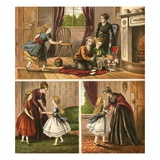 Mother and Children Giclee Print by  English