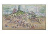The Fairy Tree (W/C) Giclee Print by Richard Doyle