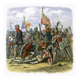 Death of Hotspur Giclee Print by James E. Doyle
