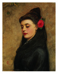 A Spanish Girl Giclee Print by Charles Sillem Lidderdale