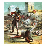 Capture of Seringapatam Giclee Print by  English