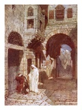 Jesus Appearing to Simon Peter Giclée-tryk af William Brassey Hole
