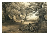Gethsemane Giclee Print by  English