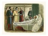 Richard Pardons the Archer Who Shot Him Giclee Print by James E. Doyle