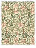 sweet Briar' Design for Wallpaper, Printed by John Henry Dearle (1860-1932) 1917 Giclee Print by William Morris
