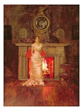 Fanny Fanning (Oil on Canvas) Reproduction procédé giclée par Edward John Gregory