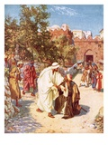 Jesus Healing a Leper Giclee Print by William Brassey Hole