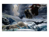 Ahasuerus at the End of the World (Oil on Canvas) Giclee Print by Adolph Hiremy-Hirschl