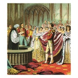 Marriage of Queen Victoria Giclee Print by  English