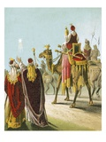 The Wise Men of the East Giclee Print by  English