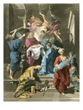 Simeon in the Temple Giclee Print by Jean-Baptiste Jouvenet