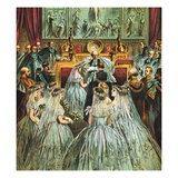 Marriage of Prince of Wales and Alexandra Giclee Print by  English