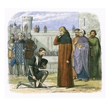 Meeting of Richard Ii and Henry Bollinbroke at Which Henry Demands the Throne Giclee Print by James E. Doyle