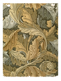 Acanthus Wallpaper, Designed by William Morris (1834-96), 1875 Giclee Print