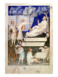 Frontispiece to Petrarch's Copy of Maurius Servius Honoratus's `Commentary on Virgil', 1340 Giclee Print by Simone Martini