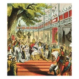 Great Exhibition of 1851 Giclee Print by  English