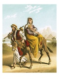 The Flight into Egypt Giclee Print by  English