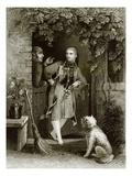 Altenburg Girl Giclee Print by  English
