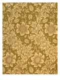'Fritillary' Wallpaper Design, 1885 Premium Giclee Print by William Morris