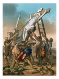 The Crucifixion Giclee Print by Jean-Baptiste Jouvenet
