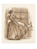 Lost Love, C.1859 (Pen and Ink) Giclee Print by John Everett Millais