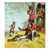Death of General Wolfe Giclee Print by  English