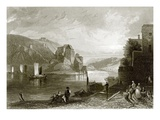 Fort Niederhaus, Near Passau Giclee Print by  English