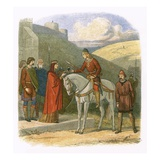 Edward Murdered at Corfe Giclee Print by James E. Doyle