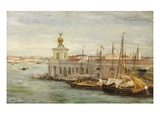 Venice, 1876 (Oil on Canvas) Giclee Print by Sir Samuel Luke Fildes