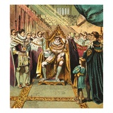Coronation of George Iv Giclee Print by  English