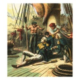 The Battle of Trafalgar Giclee Print by  English