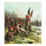 Death of Sir John Moore Giclee Print by  English