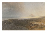 Bamburgh Castle, Northumberland, 1877 (W/C on Paper) Giclee Print by Alfred William Hunt