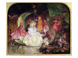 The Fairy Barque Premium Giclee Print by John Anster Fitzgerald