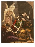 Peter in Prison Premium Giclee Print by  English
