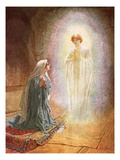 Annunciation Giclee Print by William Brassey Hole