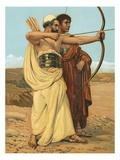 Jonathan and David Giclee Print by Philip Richard Morris