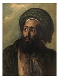 A Mohammedan (Oil on Board) Giclee Print by William Etty