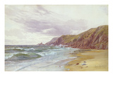 Dale, Pembrokeshire, July 1866 (W/C on Paper) Giclee Print by George Vicat Cole