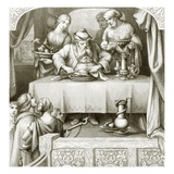 The Rich Man's Feast Giclee Print by  English