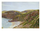 Anstey's Cove, South Devon (W/C on Paper) Giclee Print by George Price Boyce