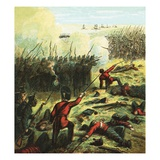 The Siege of Sebastopol Giclee Print by  English
